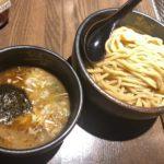 《麺屋一路》正統派豚骨魚介つけ麺。麺量1kgまで同料金です!