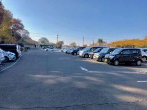 大町公園駐車場