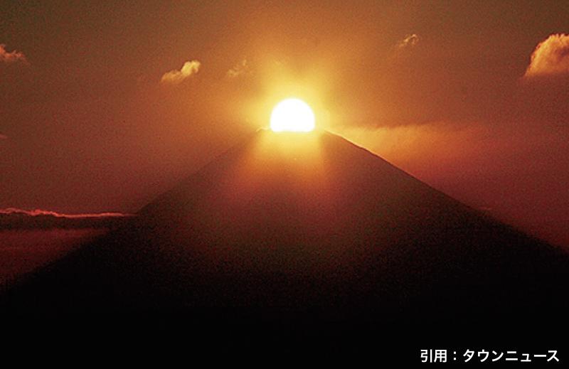 秋のダイヤモンド富士!11/6(火)アイリンク展望台から見れるの知っていましたか?