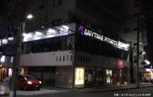 エニタイムフィットネス本八幡店の外観