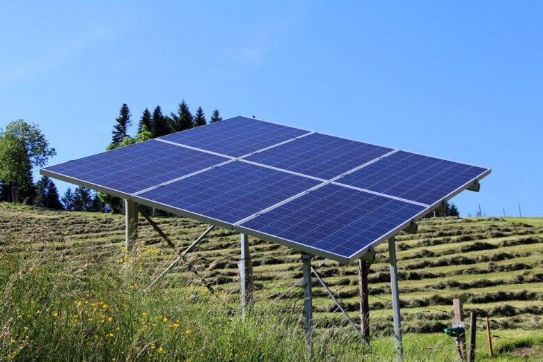 ソーラーシェアリングの写真