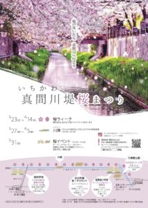第2回いちかわ真間川堤桜まつりの概要