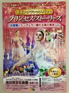 プリンセスストーリーズのパンフレット