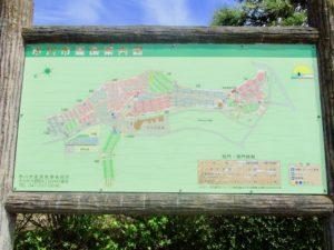 市川霊園の案内図