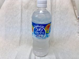 サントリー天然水シリーズのうめソルティ