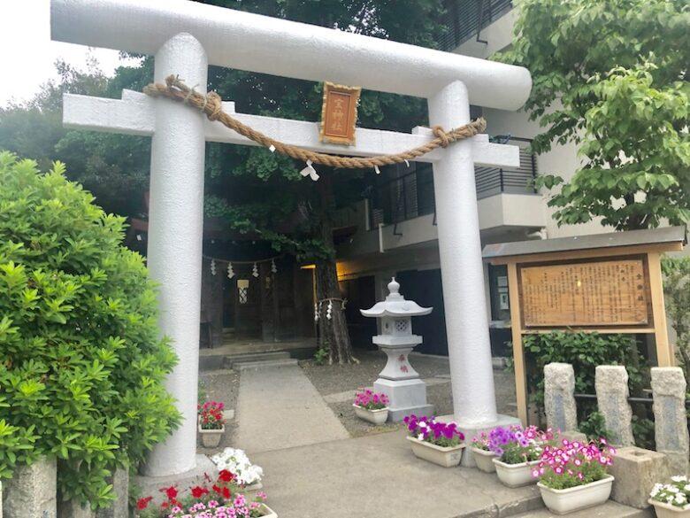 宝神社の鳥居