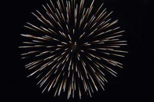 大輪の花火
