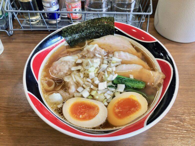 ラー麺N(えぬ)の極N麺(醤油)