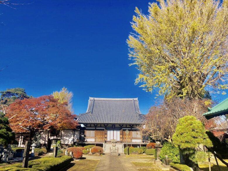 下総国分寺の本堂