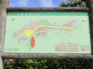 市川市営霊園の案内図