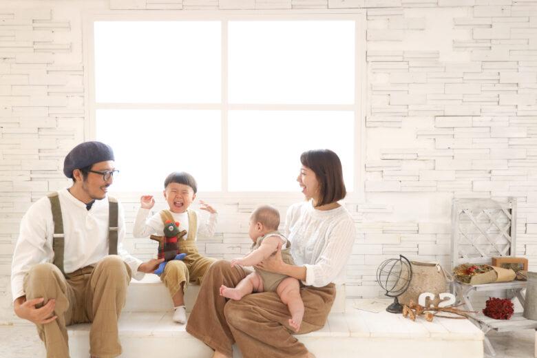 《ぷるふぁみ》家族に特別な空間を提供する子供向けフォトスタジオ!