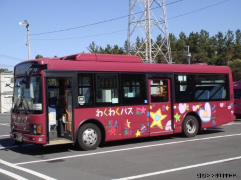 わくわくバスの時刻表や運賃!コミュニティバス南部ルート!